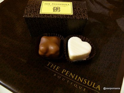 2008/09/11;THE PENINSULA BOUTIQUEのショコラ