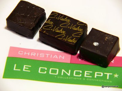 2009/01/18;Christian Vautierのチョコレート