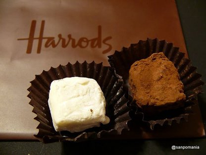 2010/01/04;Harrodsのベルジアンチョコレート