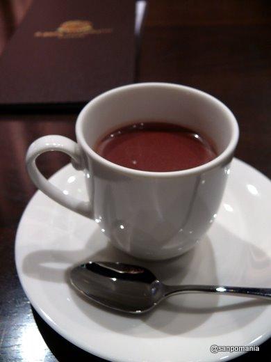 2009/01/11;PIERRE MARCOLINIのシンプルホットチョコレート